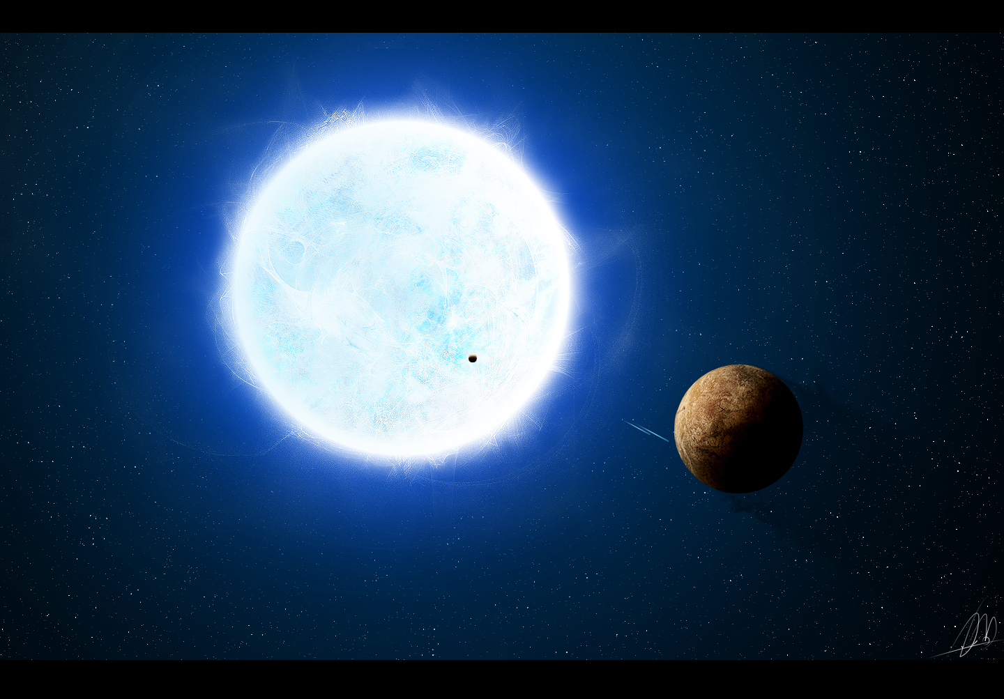pictures of outer space in the white dwarf - photo #5