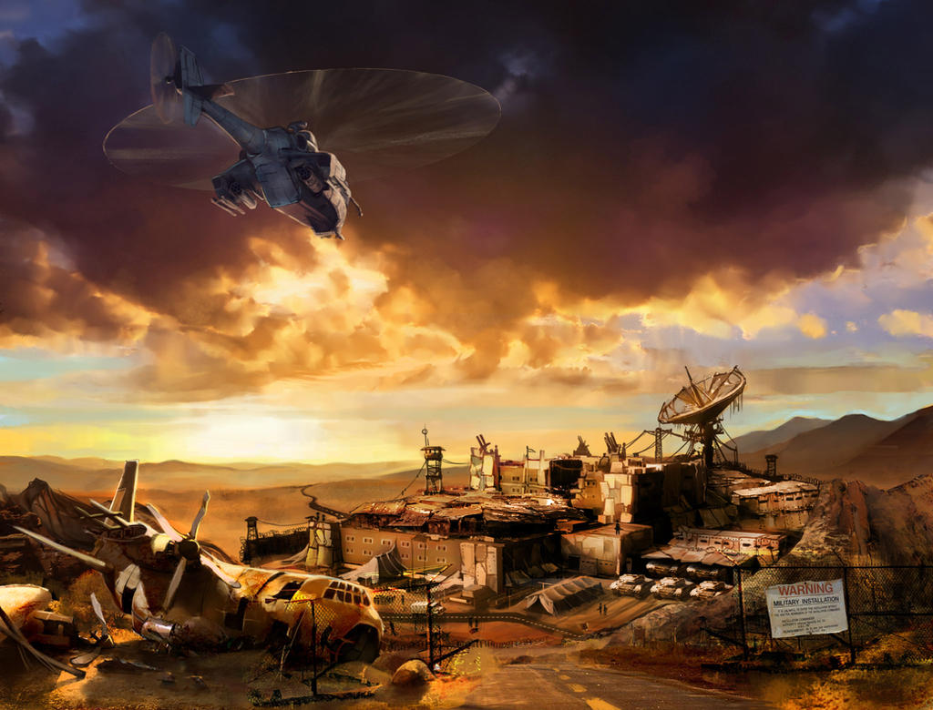 Desert Base by DevJohnson