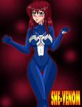SHE VENOM by tasuku13