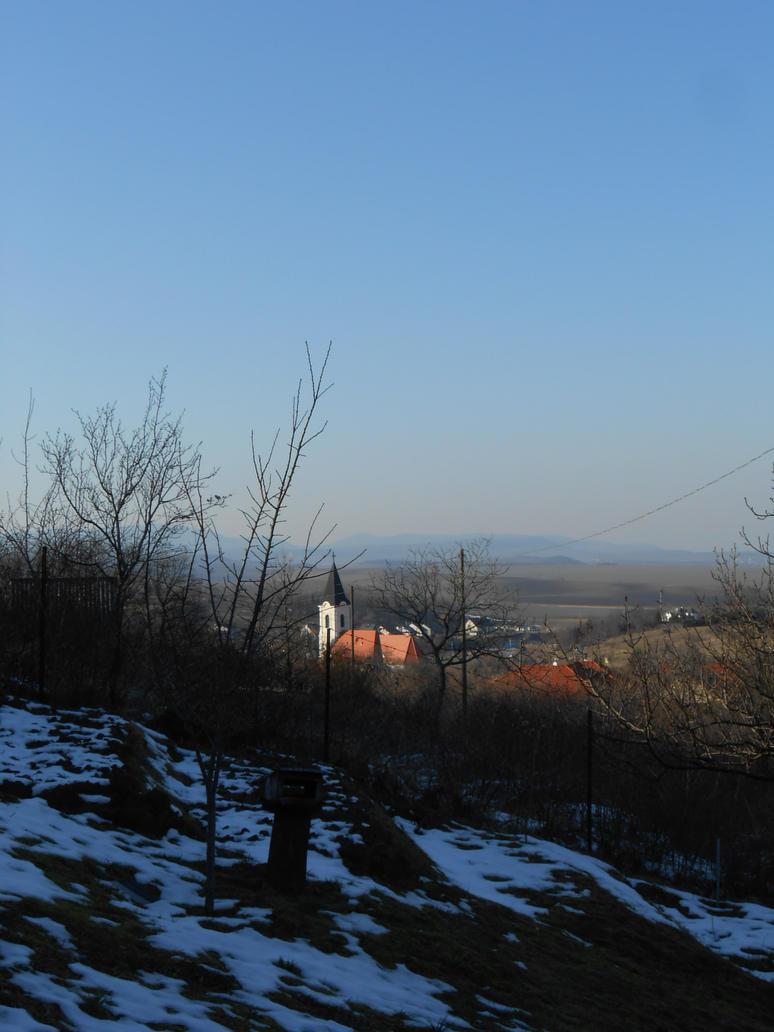 Winter on the hill by Szerzetes
