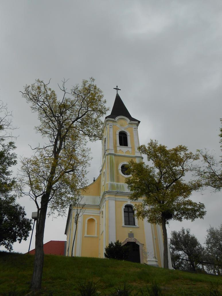 Catholic church of Gyermely 2 by Szerzetes