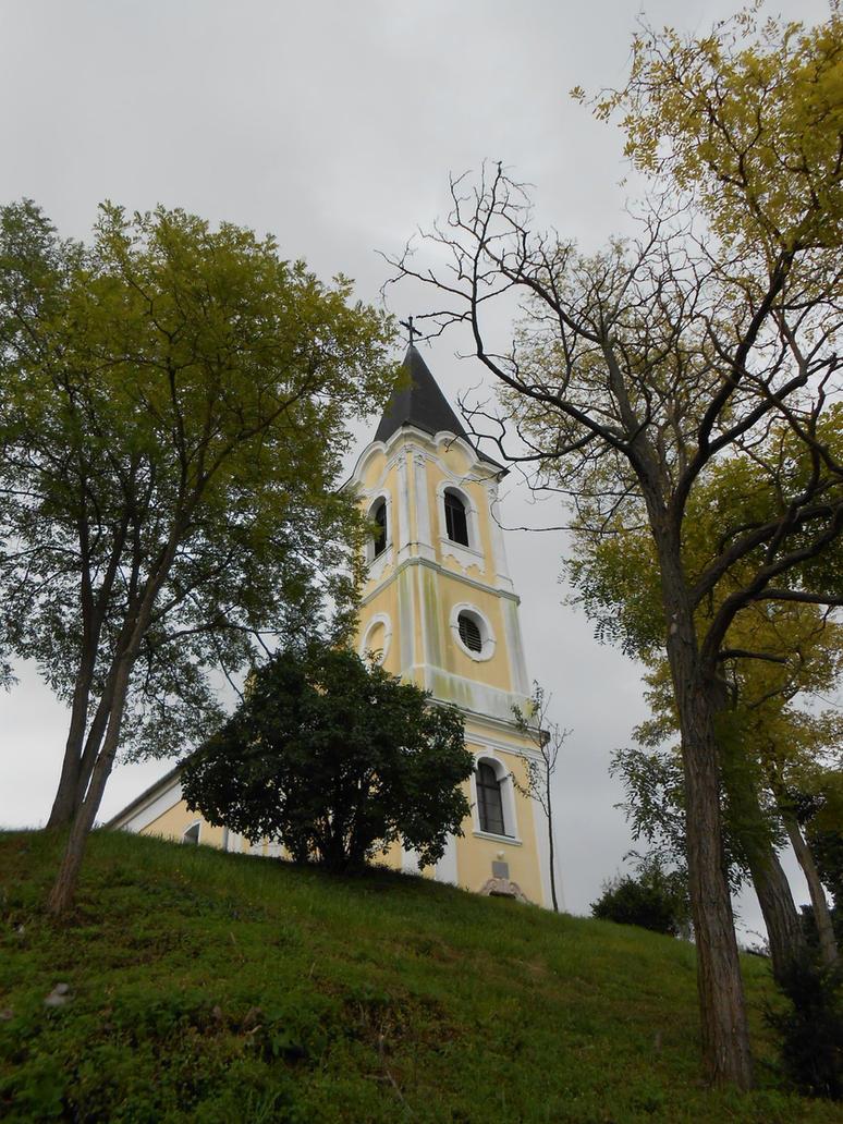 Catholic church of Gyermely 3 by Szerzetes