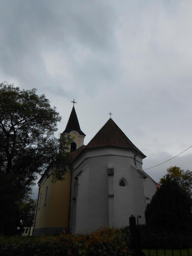 Catholic church of Gyermely 4 by Szerzetes