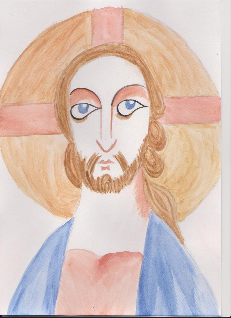 Jesus Christ from Zsambek by Szerzetes