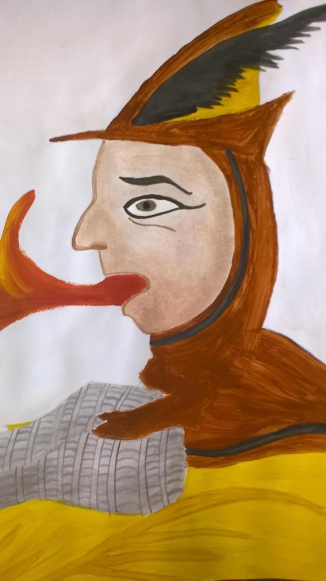 Cuman warrior by Szerzetes