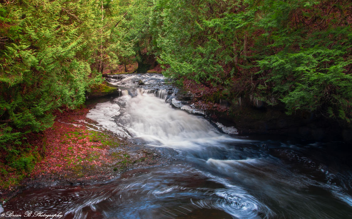 Lower Henderson Falls by Brian-B-Photography