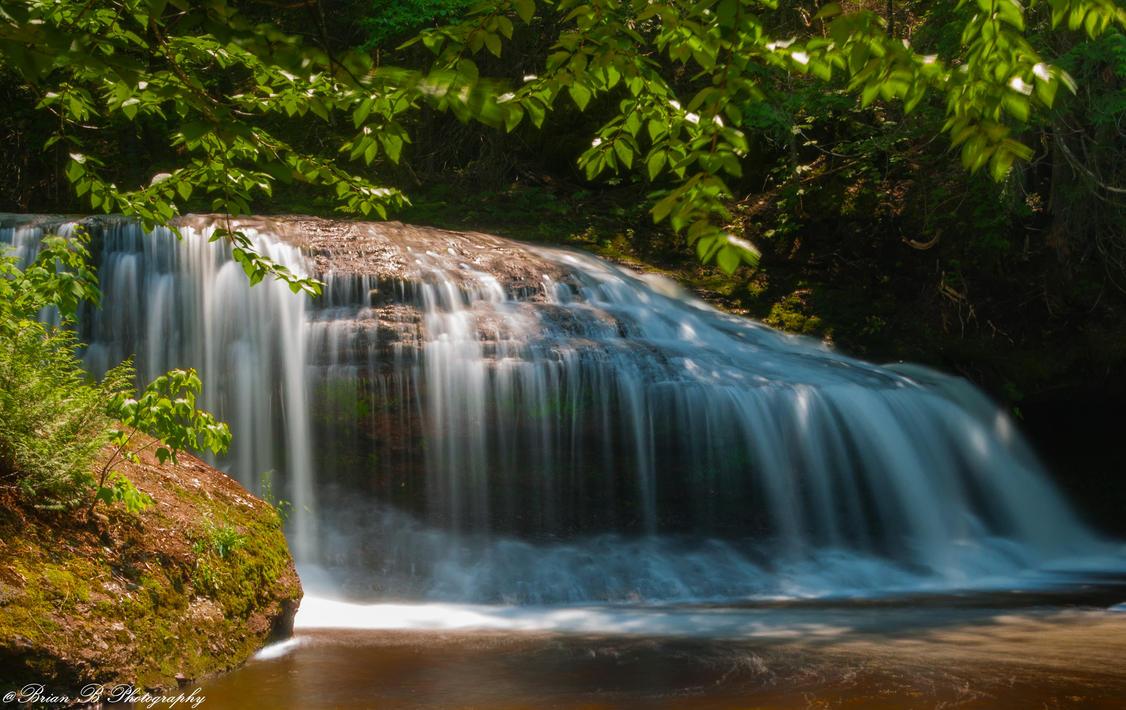 Shaw Falls II by Brian-B-Photography