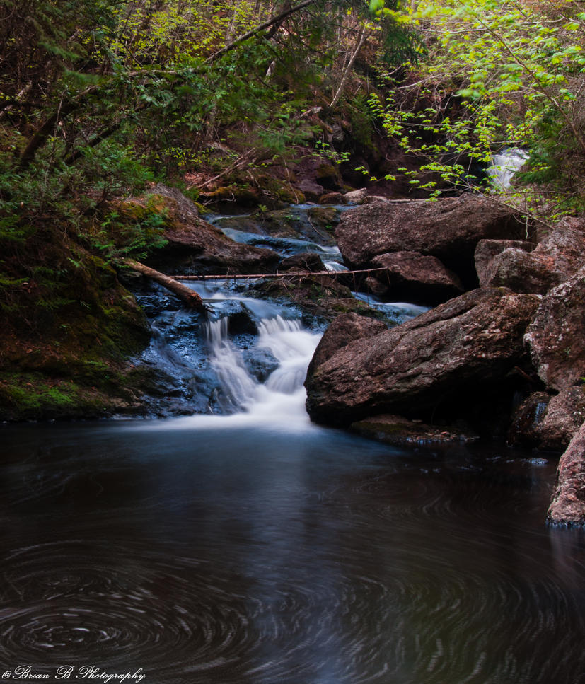 Rambling Falls by Brian-B-Photography