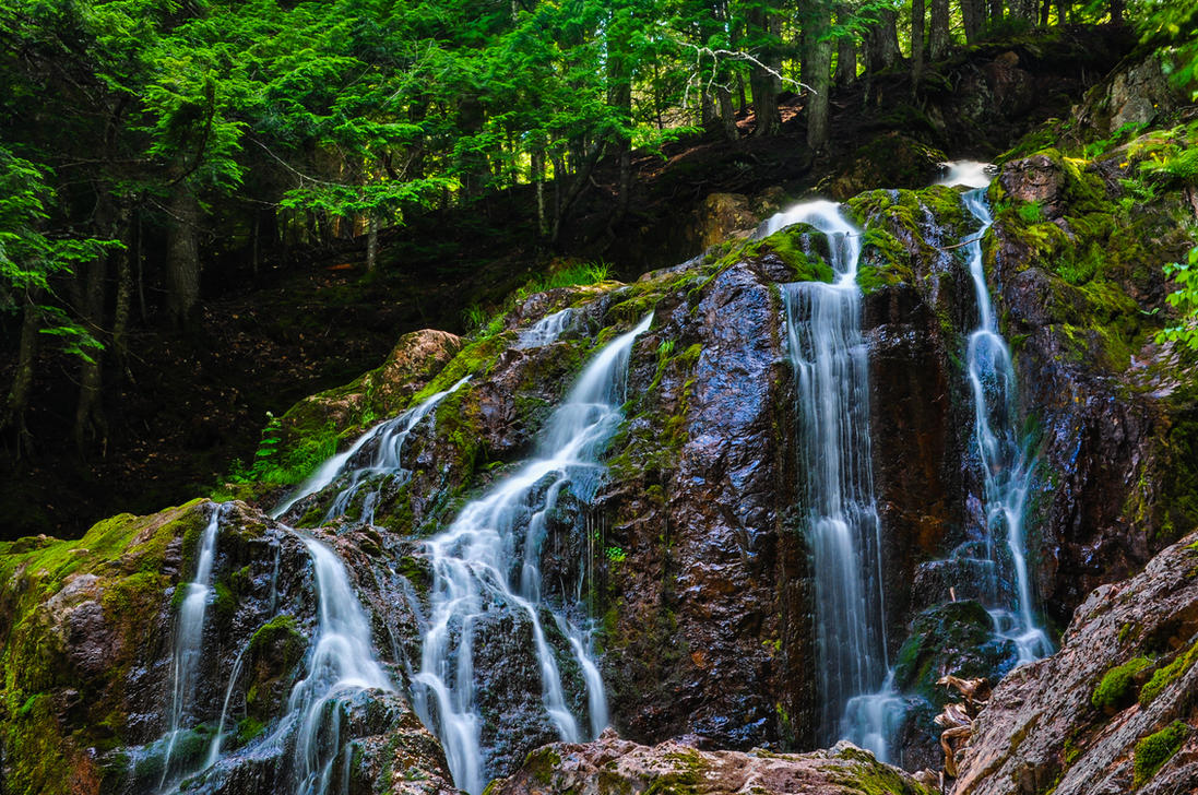 Higgin's Falls by Brian-B-Photography