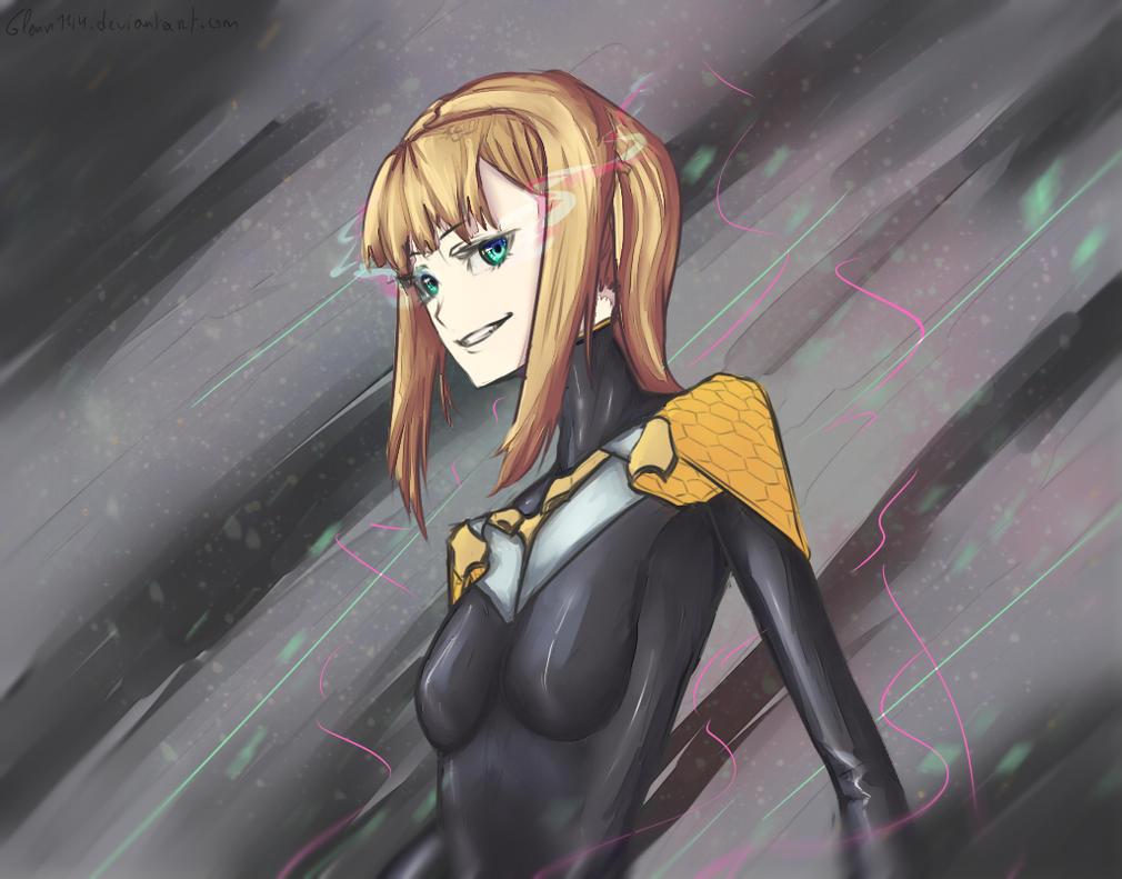 Anime Girl Lineart : Robot girl lineart by leti glenn on deviantart