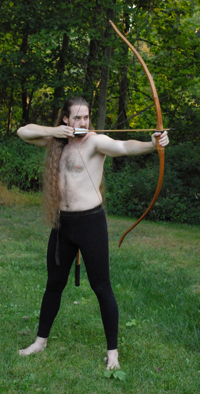 Daven the Archer 26 by LinzStock