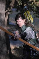 Elven Archer 05 by LinzStock