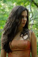Carrie Anne in Orange 15 by LinzStock