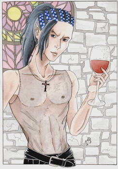 Have some wine with me