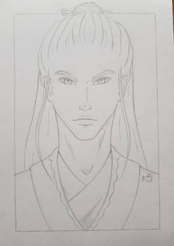 Courtier Sketch