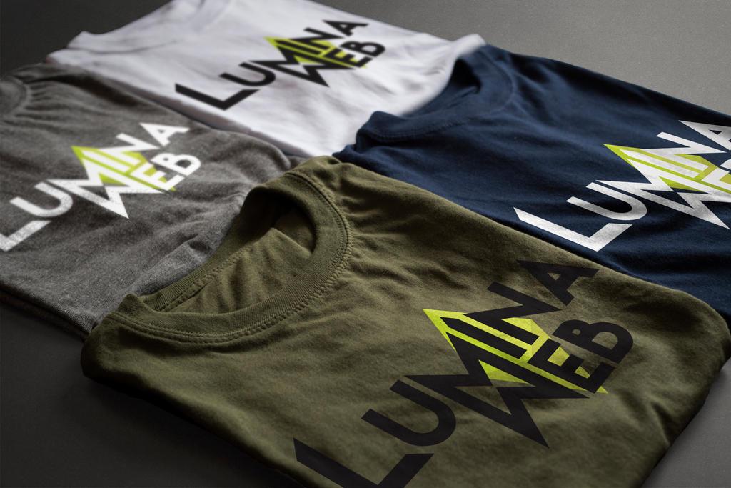 Lumina Web Logo T- Shirts by ThisIsLydia