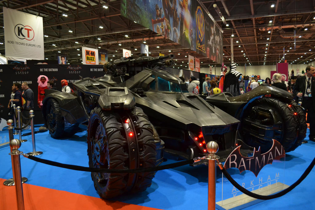 Batmobile Replica by ThisIsLydia