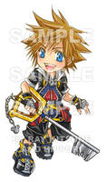 Chibi: Sora by raykit