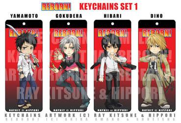 Reborn Keychains: Set 1 by raykit