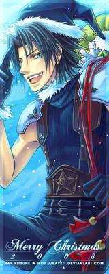 Blue Santa - Merry X'Mas