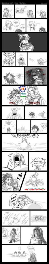 Comic: Snowball Fight