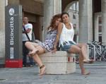 Barefoot Urban Friends: Kea and Tonga