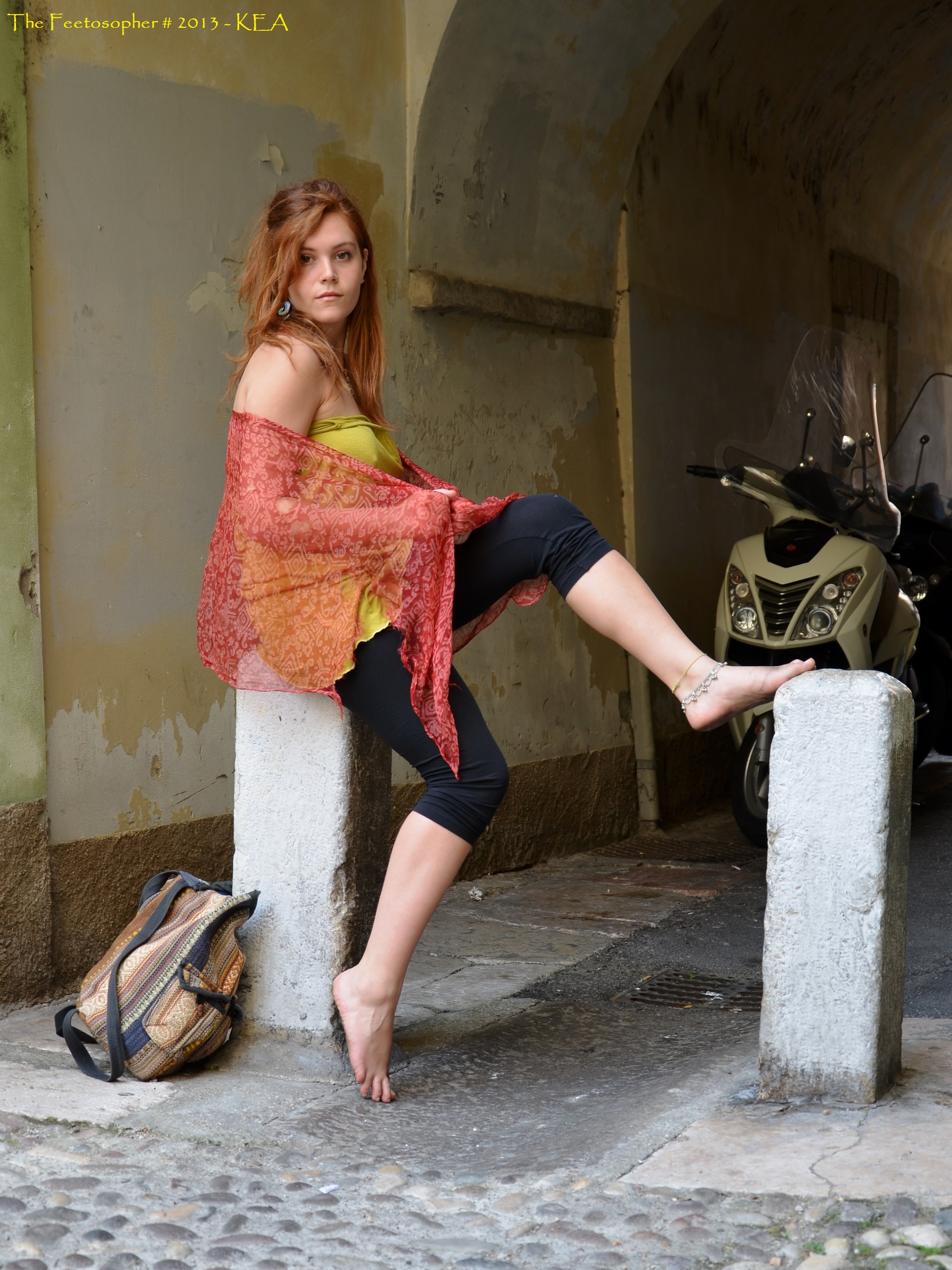 Chat blanc barefoot urban flasher - 2 part 8