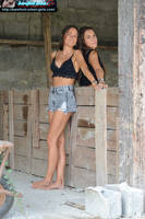 A barefoot fashion shooting 2 by Feetosopher