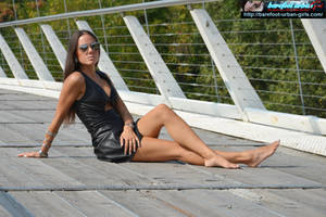 A barefoot fashion shooting 1 by Feetosopher