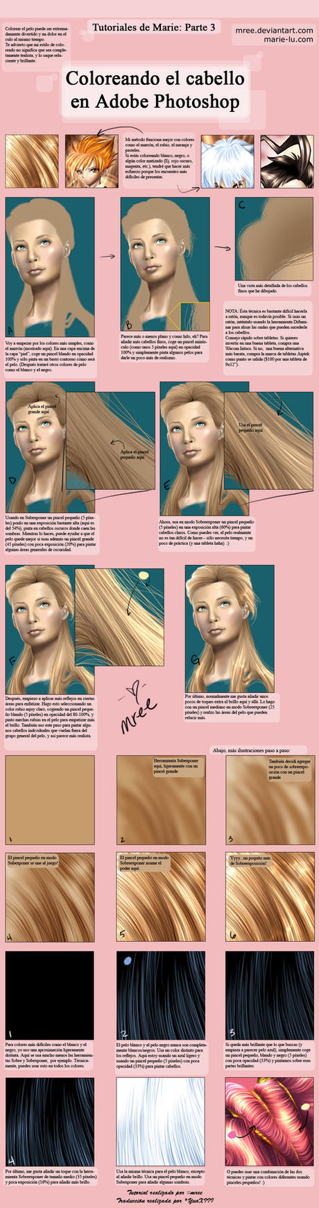 Coloreando el cabello en PS by noticias