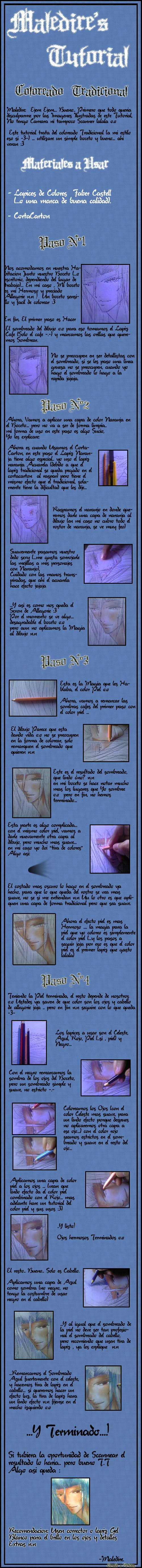 Tutorial Coloreado Tradicional by noticias