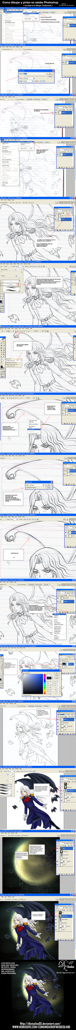 Tutorial lineas y color en PS by noticias