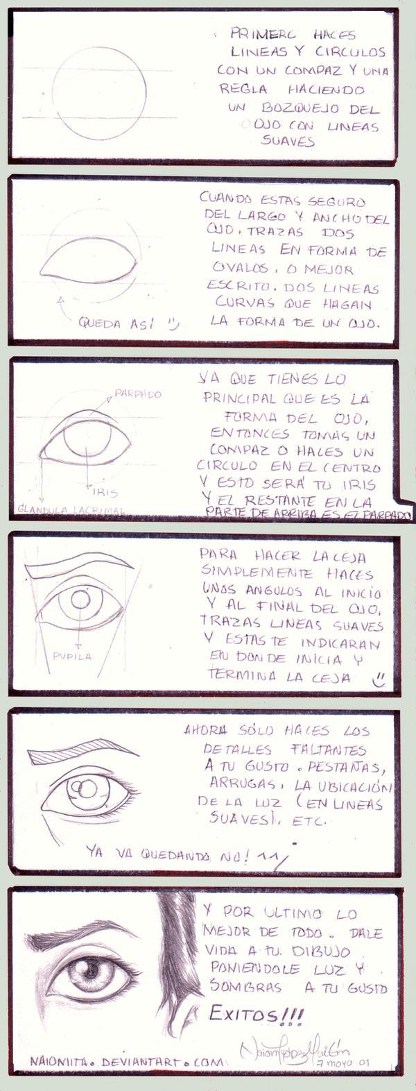 Como dibujar un ojo humano by noticias