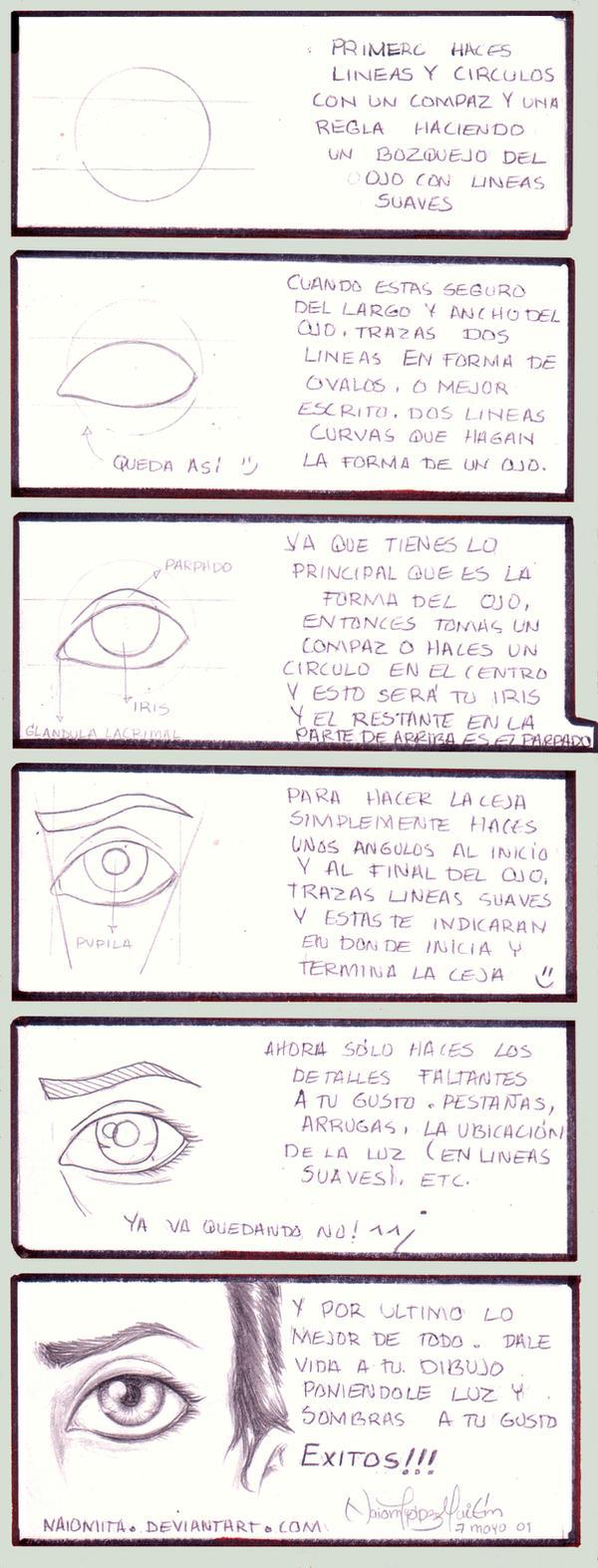 Como dibujar un ojo humano by noticias on DeviantArt