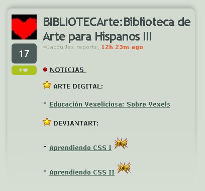 -noti- Biblioteca de Arte III by noticias