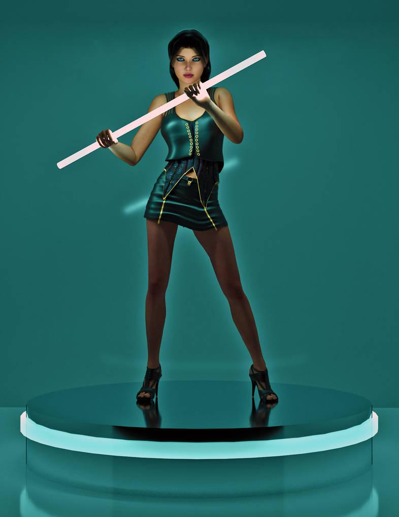 Tron Dancer