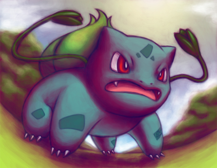 Bulbasaur Whip by icfiye