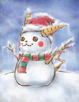 Pikachu Snowman by icfiye