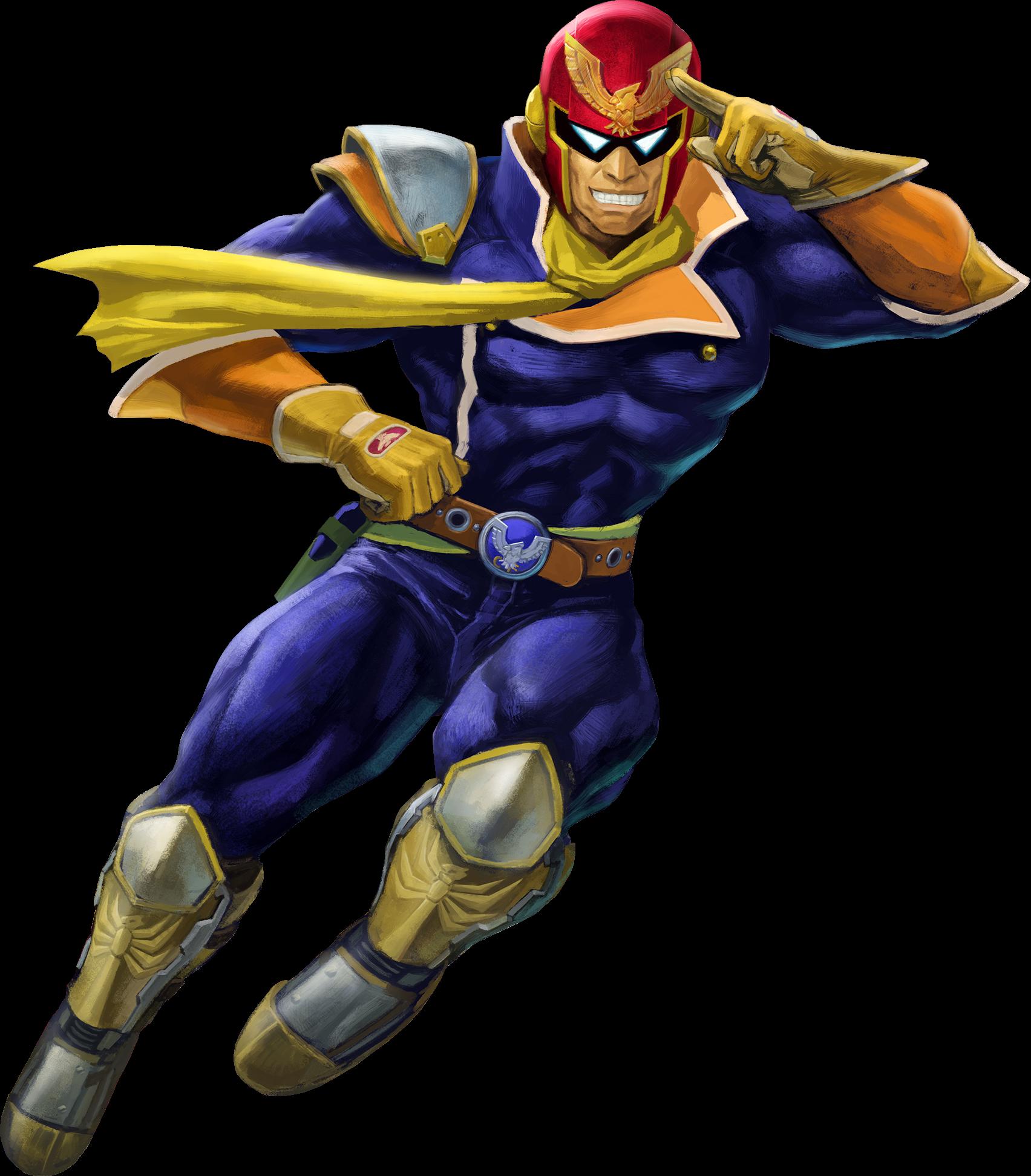 11 Captain Falcon - Super Smash Bros. Ultimate by TylerZM ...
