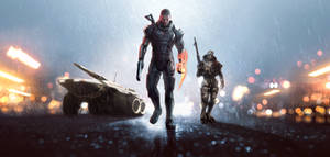 Crossover Mass Effect 3 and Battlefield 4