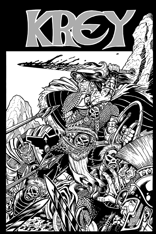Krey GN cover by rolandmann