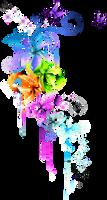 colourful tattoo divider