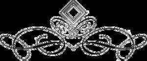 metallic divider