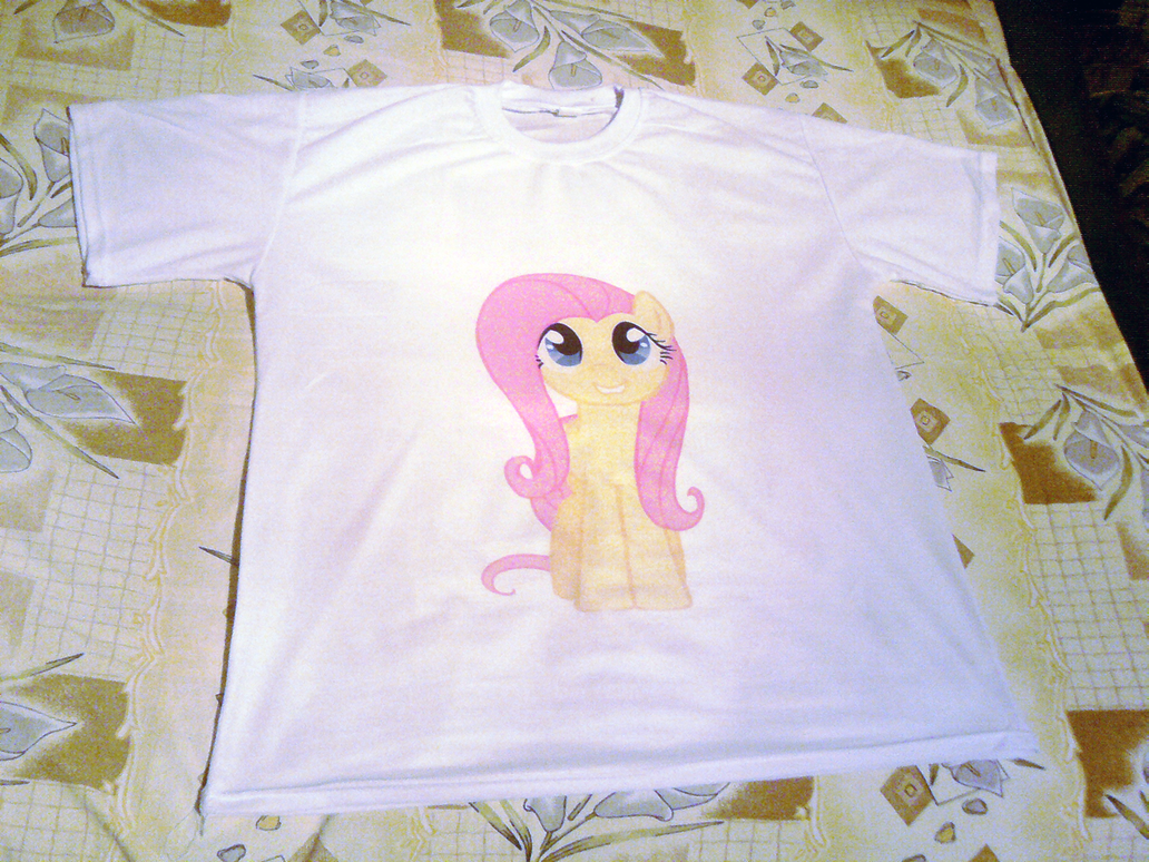Fluttershy T-shirt by maZdaZilla