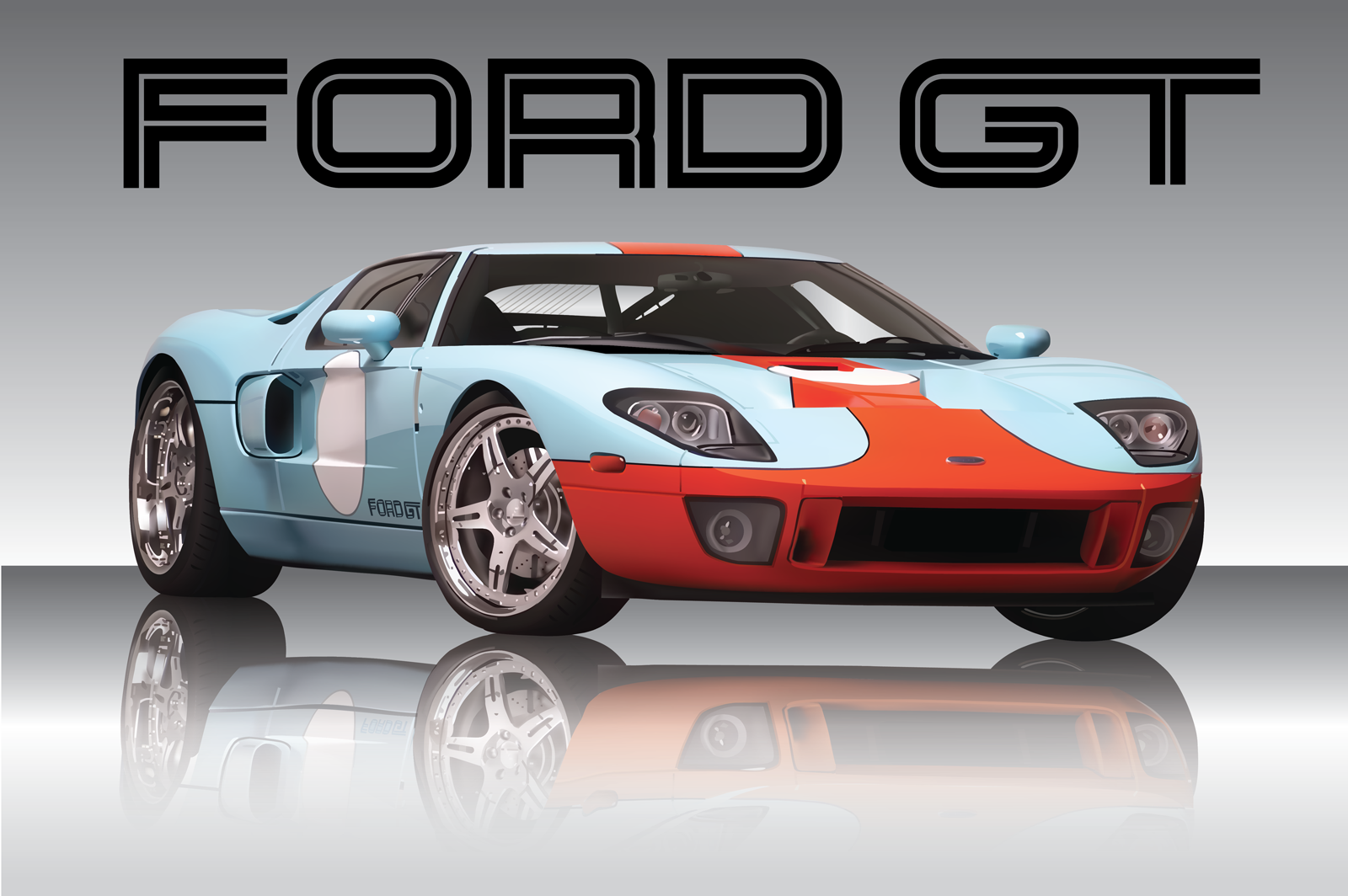 the gallery for gt ford logo no background