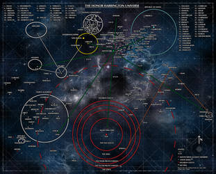 Map of the Honorverse - English Version by Genkkis