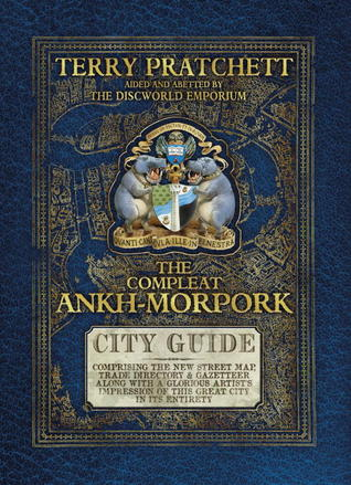 Terry Pratchett The compleat Ankh-Morpork guide by Genkkis