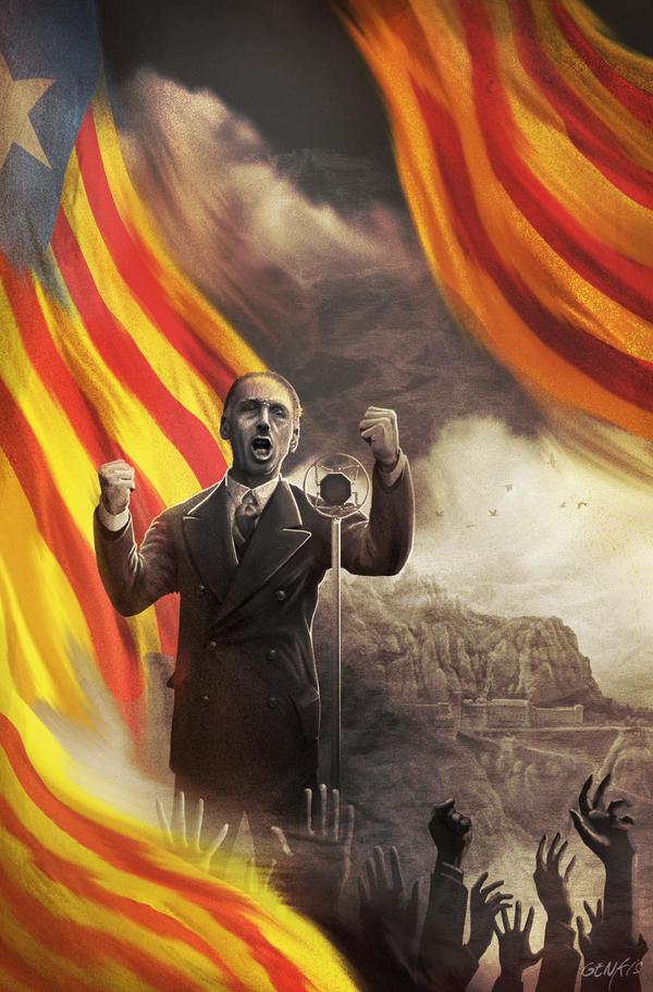 History Of Catalunia - Lluis companys by Genkkis