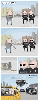 Cops in GTA V by crashgordon