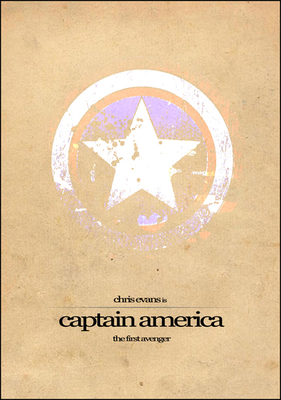Captain America Film Poster 2 by Al-Pennyworth